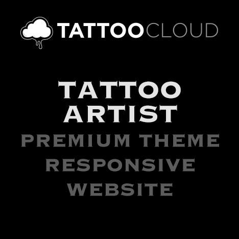 Tattoo Website 1 Artist
